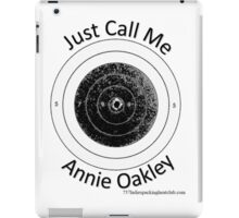 Annie get your gun b iPad Case/Skin
