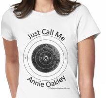 Annie get your gun b Womens Fitted T-Shirt