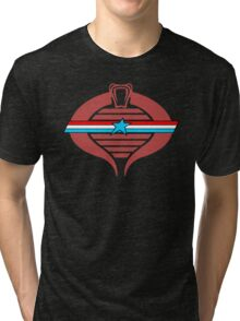 G.I. Cobra Logo Tri-blend T-Shirt