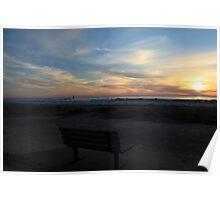 Waning Winter Sunset Poster