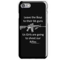 bb guns iPhone Case/Skin