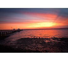Woody Point Sunset Photographic Print