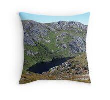 Crater Lake - Cradle Mountain National Park, Tasmania Throw Pillow