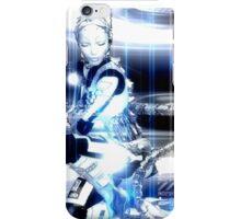 Sci Fi Robot Girl, Futuristic Beauty! iPhone Case/Skin