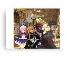 Lolita Princesses Metal Print