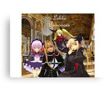 Lolita Princesses Canvas Print