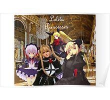 Lolita Princesses Poster
