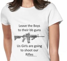 bb guns b Womens Fitted T-Shirt