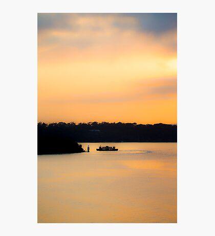 Ferry-Go-Round Photographic Print
