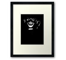 ...and instead of a left hand ... Framed Print