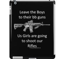 bb guns iPad Case/Skin