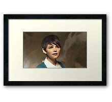 Snow from OUAT Framed Print