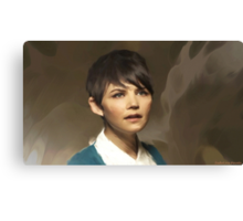Snow from OUAT Canvas Print