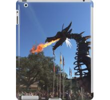 Festival of Fantasy Fire-Breathing Maleficent  iPad Case/Skin