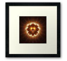 'The Shining Heart' Framed Print