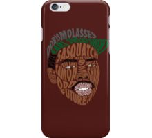 Earl Sweatshirt Typography iPhone Case/Skin