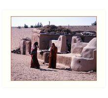 Desert Duties, Jaisalmer Art Print