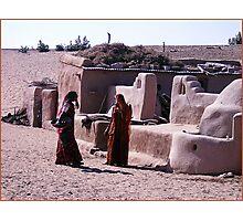 Desert Duties, Jaisalmer Photographic Print