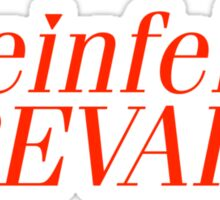 Seinfeld Prevails Sticker