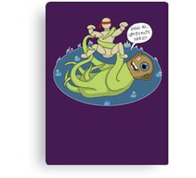 I dook you Bucky-bookoo Canvas Print