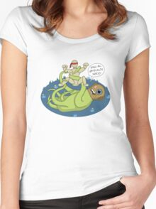 I dook you Bucky-bookoo Women's Fitted Scoop T-Shirt