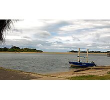View down Maroochy River Photographic Print