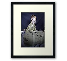 Army Tucker Framed Print