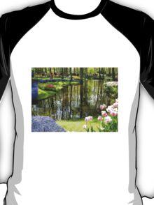 Tulip Reflections - Keukenhof Gardens, Holland T-Shirt