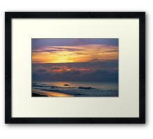 Emerald Isle Morning Framed Print