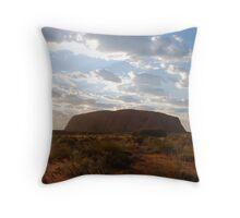 Ayers Rock Throw Pillow