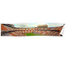 Neyland Stadium Panorama Poster