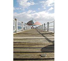 Towsville Strand Pier Photographic Print