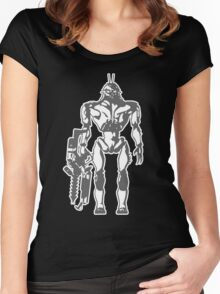 Prawn Soldier Women's Fitted Scoop T-Shirt