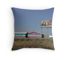 He Knows When You've Been Bad or Good.... Throw Pillow