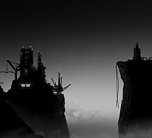 Black and White future  by Dennis  Greenhill