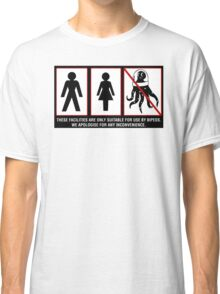 Bipeds Only -sticker Classic T-Shirt