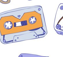 Audio cassette Sticker