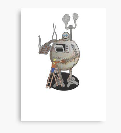 Asimo the cookie-bot Canvas Print