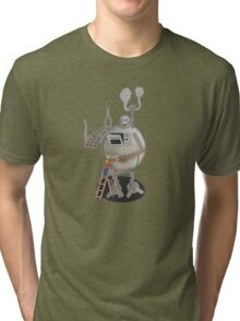 Asimo the cookie-bot Tri-blend T-Shirt