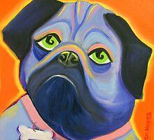 Pug by Sharon Geisen Hayes