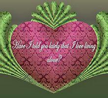 Valentine Alone by joanw