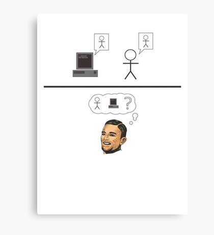 Turing Test Canvas Print