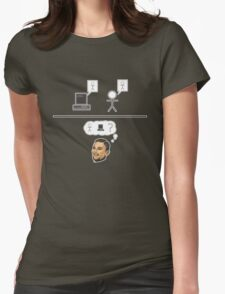 Turing Test Womens Fitted T-Shirt