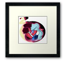 Ruby and Saphire (Garnet) Framed Print