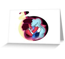 Ruby and Saphire (Garnet) Greeting Card