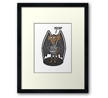 Yes, I am a bat ! Framed Print