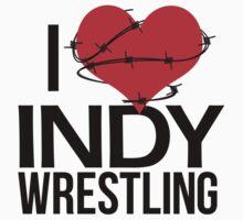 """""""I Love Indy Wrestling"""" Kids Clothes"""