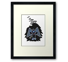 whatever happened to those cute flying monkeys? Framed Print