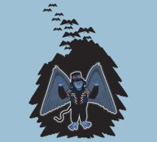 whatever happened to those cute flying monkeys? by Octochimp Designs
