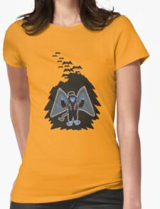 whatever happened to those cute flying monkeys? Womens Fitted T-Shirt
